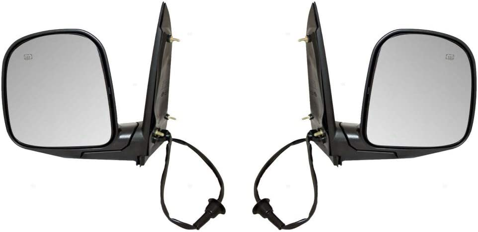 For Chevy Express 2500 Door Mirror Driver We OFFer at cheap prices 1996-2002 Pair In a popularity and Pas