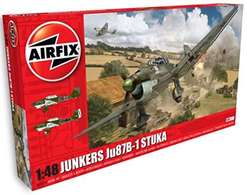 Airfix- Kit de modelismo, avión Junkers Ju87B Stuka (Hornby