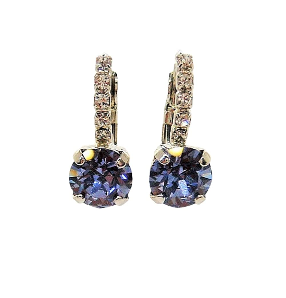 Blue Purple 8MM Round Crystal 55% OFF Lined Simulated December Max 45% OFF Tanzanite