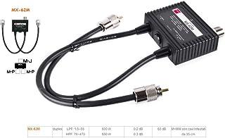 第一電波工業 ダイヤモンド HF~50/76~470MHz MX-62M