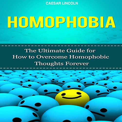 Homophobia audiobook cover art