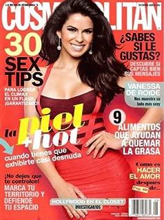 Cosmopolitan En Espanol 2012 Agosto - Vanessa De Roide, cover + 11 pages