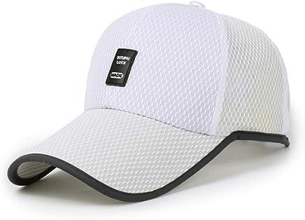 Men&Women's Logo Mesh Baseball Cap,Zlolia Quick Drying Washed Breathable Outdoor Running Hats