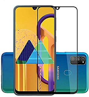 FanTing for Samsung Galaxy M31 Screen Protector,[9H Hardness,Full Coverage,No bubbles and fingerprint],Scratch-resistant h...
