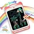 LODBY Toys for 2-10 Year Old Girls Gifts, Colorful LCD Drawing Doodle Board for Girl Gifts for 3 4 5 6 7 8 Year Old Girls Birthday Gifts Age 5-7,Writing Pad Drawing Tablet for Kids Girls Toys Age 2-8