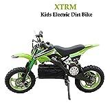 XTRM KIDS ELECTRIC DIRT BIKE GREEN - Motocross Childrens Off Road Sports Enduro
