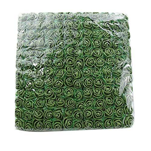 144 stuks kerst decoratieve bloem krans pe teddybeer van rozen bruiloft plakboek kunstbloemen home decor nep bloemen, 13,72 stuks