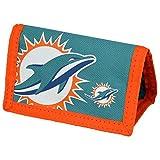 Miami Dolphins Nylon-Geldbeutel mit NFL Logo -