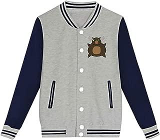 Rhfjgk Ldjg Fat Moose Baseball Uniform Jacket Sports Coat for Teenagers Boys
