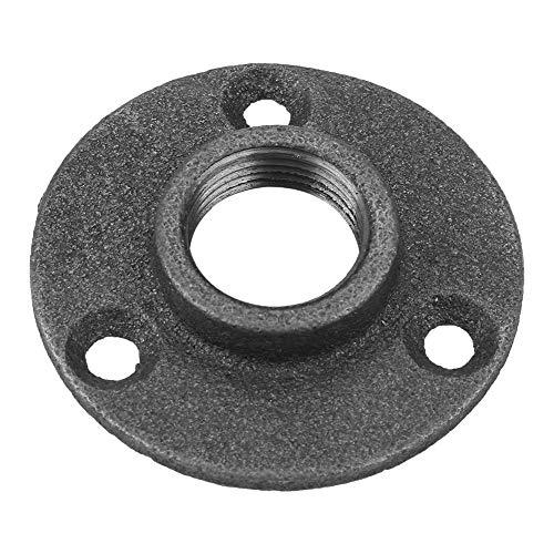 10 piezas de brida de piso de hierro maleable, DN15 1/2