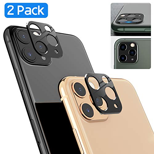 ICHECKEY Camera Lens Protector Compatible for iPhone 11 Pro/iPhone 11 Pro Max, Super Clear Bubble-Free 9H Hardness Tempered Glass Screen Back Camera Lens Cover for iPhone 11 Pro 5.8''/11 Pro Max 6.5''