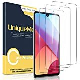 [2 Pack] UniqueMe Screen Protector for LG Stylo 6 Tempered Glass, HD Clear [Anti-Scratch] [Bubble Free]