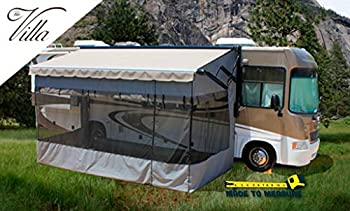 Villa Room Enclosure for Electric awnings - 18ft RV Awning Screen Room