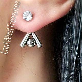 Baseball Softball earrings for women-Baseball Softball Player lover Coach jewelry gifts