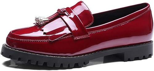 1TO9 MMS06506, Sandales Compensées Femme - Rouge - rouge, 36.5 EU