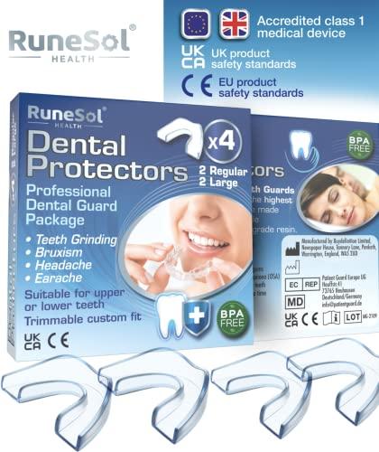 Runesol 4 x Zahnschutz gegen...