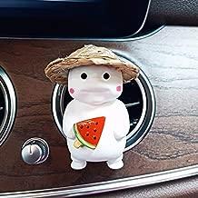 Car Fat King Air Freshener Auto Perfume Clip Automobiles Interior Fragrance Scent Smell Diffuser Car Accessories Ornaments Gifts (Watermelon Ice Cream)