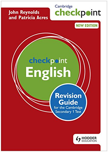 Cambridge Checkpoint English Revision Guide for the Cambridge Secondary 1 Test...