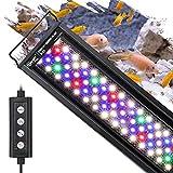 Best Aquarium Lightings - hygger 18W 24/7 Lighting Aquarium LED Light, Sunrise-Daylight-Moonlight Review