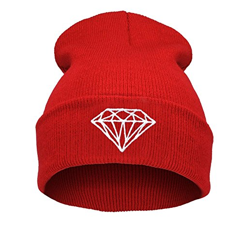 Morefaz Beanie hat Bonnet Fashion Jersay Oversize Bad Hair Day Bastard Diamond Trill Wasted