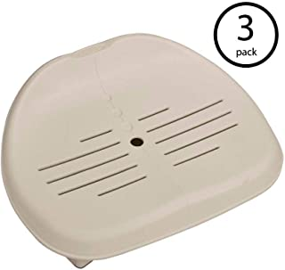 Intex Removable Slip-Resistant Seat For Inflatable Pure Spa Hot Tub (3 Pack)