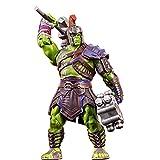 ZHI BEI Marvel Avengers Conjunta Movible Thor 3 Hulk Modelo Completo Movible Muelle Muñeca Decoración Juguete para niños