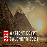 Ancient Egypt Calendar 2021: 12 Month Mini Calendar from Jan 2021 to Dec 2021, Cute Gift Idea | Pictures in Every Month