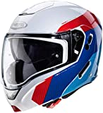 Caberg CASCO HORUS SCOUT WHITE METAL/RED/BLUE/LIGHT BLUE M