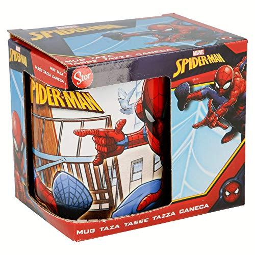 Tazza Colazione Per Regalo - 325 ml | Spiderman Streets