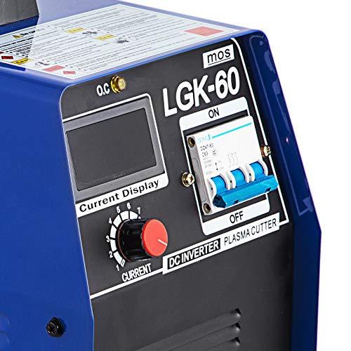 Mophorn 60AMP Plasmaschneider-Schweißgerät 380V Plasmaschneider-Schweißgerät (60AMP) - 8