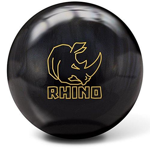 Brunswick Rhino Bowling Ball, Black Pearl, 10 lb