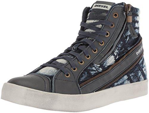 Diesel Herren D-Velows D-String Plus Sneaker, Indigoblau, 44 EU