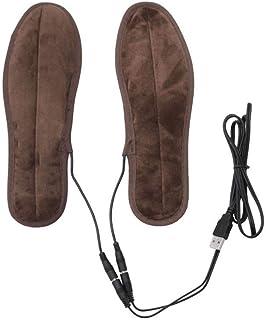 BEAUTPINE Plantillas calefactables, Recargables, USB, térmi