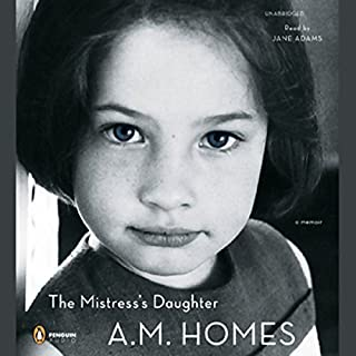 The Mistress's Daughter audiobook cover art