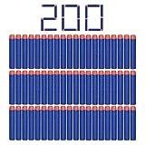 StillCool Nerf N-Strike 200pcs 7.2cm Espuma Suave Dardos Recarga Bala Blasters para Nerf N-Strike...