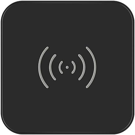 CHOETECH Cargador Inalámbrico Qi Certificado Wireless Charger con Goma Antideslizante para iPhone X/XS/XS Max/XR/8/8 Plus, Samsung Galaxy S10/S9/S9+/S8/S8+/Note 9/Note 8/S7, Nuevo AirPods y más