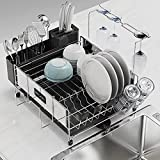 Best Dish Drainers - SINOART Dish Drying Rack , Stainless Steel Dish Review