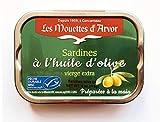 Mouettes d'Arvor Gonidec French Sardines Fillets in Extra Virgin Olive Oil - 4 oz.