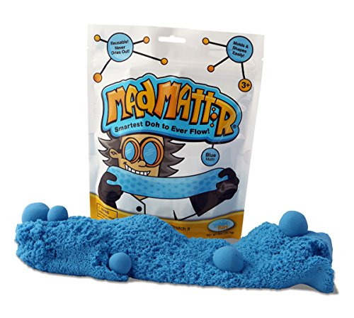 MAD MATTR Super-Soft Modelling Dough Compo& That Never Dries Out by Relevant Play (Blue, 10oz)