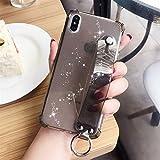 YWCXMY-LDL Paillettes Porte Cas de téléphone for l'iPhone 11 X XR XS Max 6 6S 7 8 Plus Transparent...
