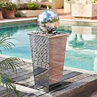 Tapered Stainless Square Column Sphere