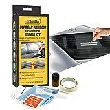 N/G Kit de réparation de désembueur de Lunette arrière, kit de réparation de Liaison d'onglet de dégivreur de Lunette arrière de Voiture