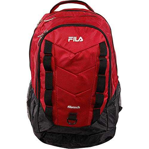 Fila Backpack, RED, Extra Large