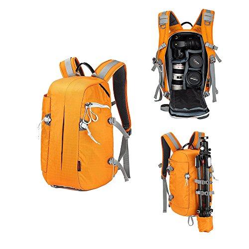 Professional DSLR Camera Bag Large Waterproof Hiking Camera Backpack Travel...