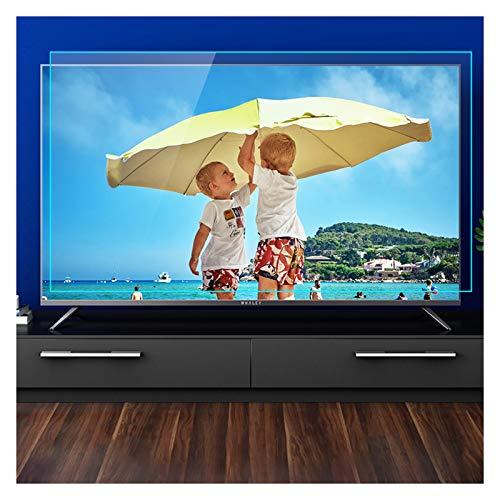 Protector de pantalla de TV anti-luz azul de 32-75', Antimiopía/Protección de radiación/Película antiarañazos, Ayudarle a dormir mejor, para Sharp, Sony, Samsung, Hisense, LG,49' (1075 * 604)