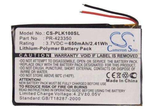 CS-PLK100SL Akku 650mAh Kompatibel mit [PLANTRONICS] K100, [Sony] MDR-DS6500, MDR-RF985R, MDR-XB950B1, MDR-XB950BT Ersetzt 1-756-920-21, 1-756-920-31, LIS1427HEPCC, LIS1427NHPCC, PR-423350