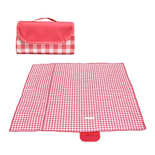 TANTAO Picknickdecke Wasserdicht 200x200CM Stranddecke isolierte Picknickmatte Ultraleicht Sandfrei Campingdecke Outdoor Decke Weich Tragbar für Outdoor Reisen und Camping