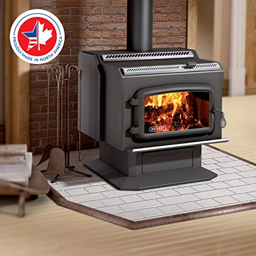 Drolet High-Efficiency Wood Stove - 95,000...