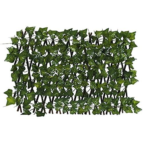 Reooly Gartenzaun Rankhilfe Rankgitter Wanddekorationen im Innenhof des Balkons Holzzaun Pflanzengitter 200 cm zusammenfaltbar variabel verstellbar