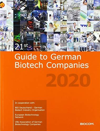 21st Guide to German Biotech Companies 2020